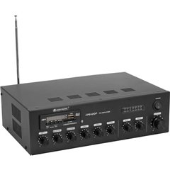 Omnitronic CPE-120P ELA Amplificatore PA 120 W 4 canali 1 zona