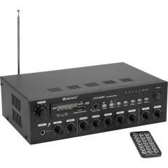 Omnitronic CPZ-120P ELA Amplificatore PA 120 W 4 canali 4 zone