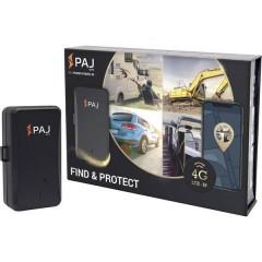 PAJ Tracciatore GPS (Tracker) Tracker veicoli, Tracker multifunzione Nero