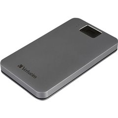 Verbatim Executive Fingerprint Secure 1 TB Hard Disk esterno da 2,5 USB 3.2 Gen 1 (USB 3.0) Grigio