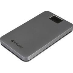 Verbatim Executive Fingerprint Secure 2 TB Hard Disk esterno da 2,5 USB 3.2 Gen 1 (USB 3.0) Grigio