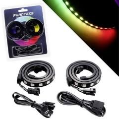 Phanteks Digital-RGB Combo Set inkl. 2x LED-Strip Kit tuning per PC Case RGB