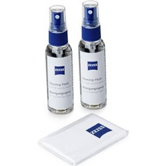 Reinigungsspray 2 x 60 ml + Mikrofasertuch Kit pulizia per foto/videocamere