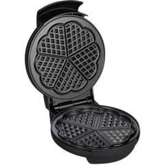 WA Macchina per cialde Con regolazione manuale della temperatura Acciaio inox (spazzolato), Nero