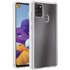 Safe Steady Backcover per cellulare Samsung Galaxy A21s Trasparente