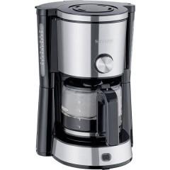 KA 4825 TYPE SWITCH Macchina per il caffè acciaio inox, Nero Capacità tazze=10 Caraffa in vetro