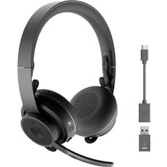 Zone 900 Cuffie Stereo Bluetooth, USB Senza filo Cuffia Over Ear Grafite