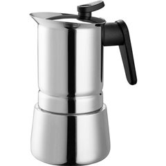 Steelmoka Macchina per caffè espresso acciaio inox Capacità tazze=6