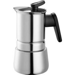 Steelmoka Macchina per caffè espresso acciaio inox Capacità tazze=2
