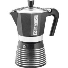 Infinity Rock Macchina per caffè espresso Nero / Argento Capacità tazze=6