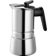 Steelmoka Macchina per caffè espresso acciaio inox Capacità tazze=4
