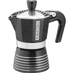 Infinity Rock Macchina per caffè espresso Nero / Argento Capacità tazze=2