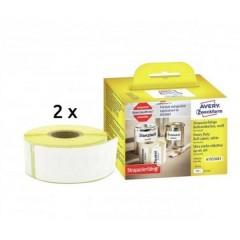 Rotolo di etichette 89 x 25 mm Pellicola Bianco 1 KIT Etichetta universale