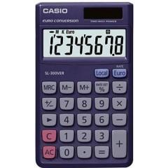 Calcolatrice tascabile Blu Display (cifre): 8 a energia solare, a batteria (L x A x P) 70 x 7.5 x 118.5