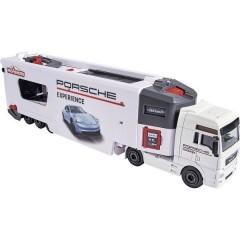 MAN TGX Truck Porsche Experience+ 2 cars Camion modello