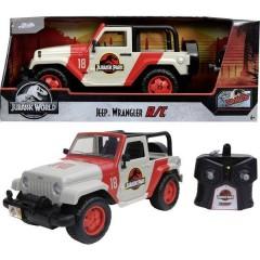 Jurassic Park RC Jeep Wrangler 1:16 Automodello Elettrica Fuoristrada incl. Batterie