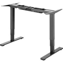 Telaio del tavolo per lavoro in piedi o seduti SP-SDF-500 Colore piastra tavolo: Nero (L