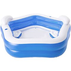Family Fun Pool Piscina sistema multi scomparti 575 l (Ø x H) x 69 mm