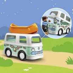 LEGO® DUPLO® Avventura in famiglia con bus da campeggio