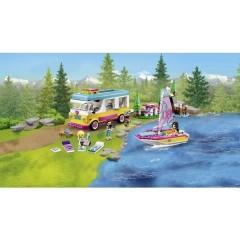 LEGO® FRIENDS Escursione in barca a vela e camper