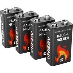 Batteria da 9 V 9 V 4 pz.