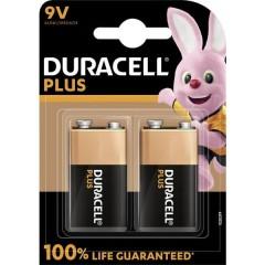 Batteria da 9 V Alcalina/manganese 9 V 2 pz.