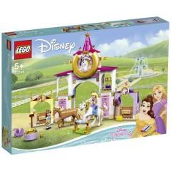 LEGO® DISNEY Belle e Rapunzel stalle reali