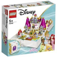 LEGO® DISNEY Libro delle favole avventure con Arielle, belle, Cenerentola e Tiana