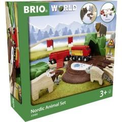 Kit di animali forestali BRIO Nordic