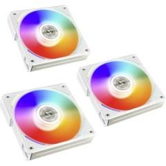UNI FAN AL120 Ventola per PC case Bianco (L x A x P) 120 x 120 x 25 mm