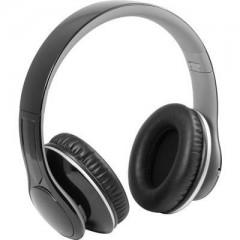 MusicMan BigBass BT-X15 Bluetooth Cuffia Cuffia Over Ear pieghevole, Radio FM, headset con microfono, lettore