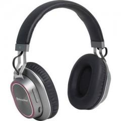 BT-X33 Bluetooth Cuffia Cuffia Over Ear headset con microfono, lettore mp3 Nero, Argento