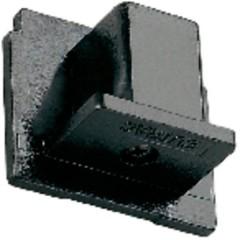 Parte finale Componente per sistema su binario ad alta tensione Grigio-Argento