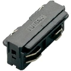 Connettore dritto Componente per sistema su binario ad alta tensione Grigio-Argento