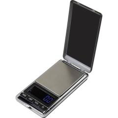 Bilancia tascabile Portata max. 500 g Risoluzione 0.1 g a batteria Argento