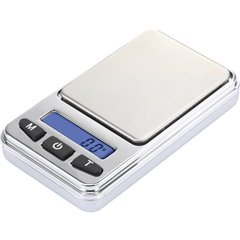 Bilancia tascabile Portata max. 200 g Risoluzione 0.01 g a batteria Argento