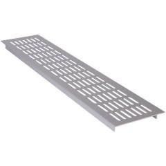 Griglia in metallo leggero Argento (L x L x A) 480 x 100 x 16 mm