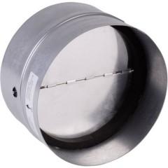 Valvola di non ritorno con guarnizione in gomma Adatto al diametro del tubo: 12.5 cm Zinco