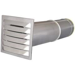 Bocchetta a risparmio energetico Acciaio inox Adatto al diametro del tubo: 10 cm