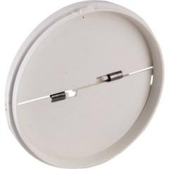Sportello di protezione Adatto al diametro del tubo: 12.5 cm Bianco
