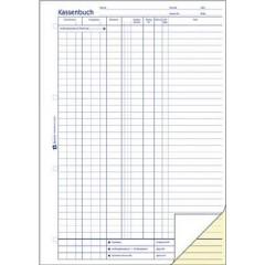 Schedario monetario DIN A4 Bianco Numero di fogli: 40 Autocopiante: Sì