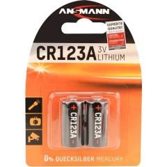 CR17335 Batteria per fotocamera CR-123A Litio 1375 mAh 3 V 2 pz.