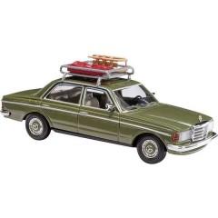 H0 Mercedes Benz W123 Limousine con tetto bagagli