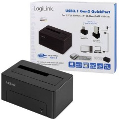 Docking Station per hard disk Numero di hard disk (max.): 1 x 2.5 pollici, 3.5 pollici
