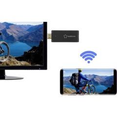 renkCast 3 Chiavetta streaming HDMI AirPlay, Miracast, DLNA, Antenna esterna