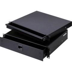 Cassetto per rack da 19 pollici 2 U Acciaio