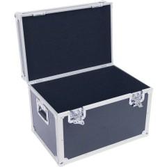 Transportcase Flight case (L x L x A) 400 x 800 x 400 mm