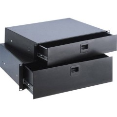 Cassetto per rack da 19 pollici 3 U Acciaio