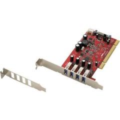 Scheda controller USB 3.0 4 Porte PCI