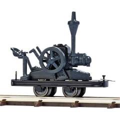 Per ferrovia da cantiere H0f vagone motore per finta